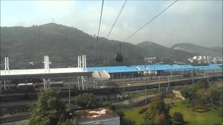 preview picture of video 'Zhangjiajie - Tianmen Mountain cable car'