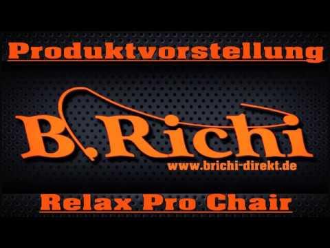 B.Richi Relax Pro Carpchair mit Armlehnen Karpfenstuhl aus der BR-Range