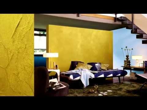 Alpina Innenfarbe Wandfarbe Metall-Effekt Gold (früher Metall-Accent ...