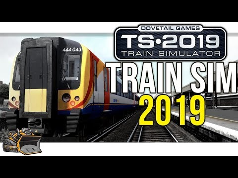 Train Simulator 2019 64 bit gameplay Portsmouth Harbor Route Class 444