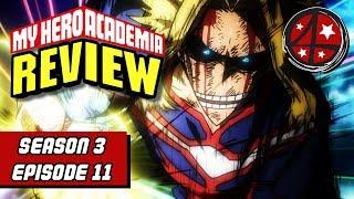 U A  SHOCK! | My Hero Academia Season 3 Episode 18 REVIEW