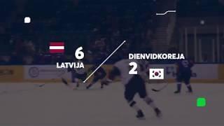 Bites hokeja minūte: Latvija pret Dienvidkoreju