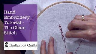 How To Do A Chain Stitch