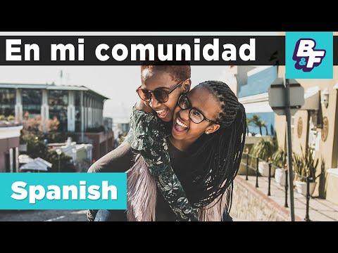Spanish Community Vocabulary With B&F   Mi Comunidad   BASHO & FRIENDS Learning Songs