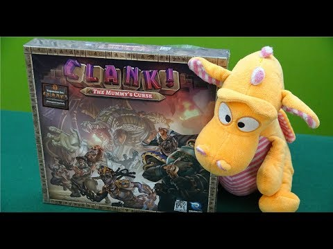 Clank! The Mummy's Curse - Unboxing