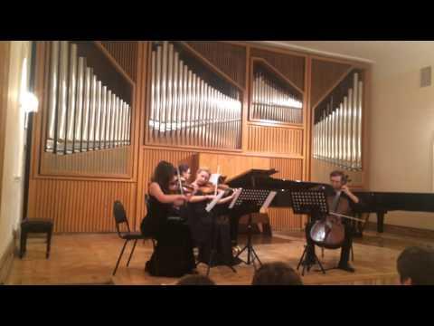 Mahler - quartet a minor  Piano - Kamilla Bendersky
