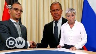 Зачем глава МИД Германии приехал в Москву на самом деле (10.05.2018)