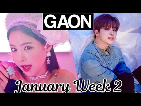 [TOP 100] Gaon Kpop Chart 2019 [January Week 2]