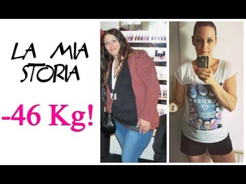 Perdita di peso dal cantante Valeria