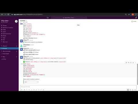 CloudSQL Op Walkthrough - Watch video