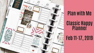 Plan With Me - Classic Happy Planner - Feb 11 17, 2019 - Social Media Planner