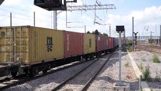 preview picture of video 'Freight Trains at Peterborough 18 June 2014'