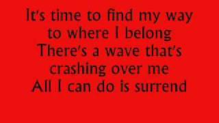 SOMETHING HEAVENLY with lyrics