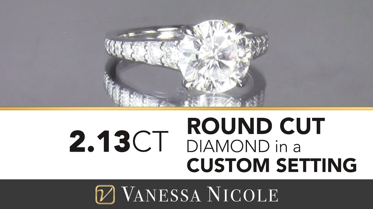 2.13ct Round Cut Diamond Ring
