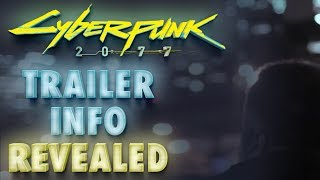 New Cyberpunk 2077 E3 2018 Trailer Info Hinted by Mike Pondsmith in February Interview
