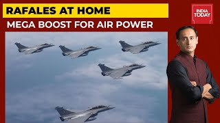 Rafales Land In Ambala: Will Rafale Fighter Jets Be Deployed In Ladakh? |Newstrack With Rahul Kanwal - Download this Video in MP3, M4A, WEBM, MP4, 3GP