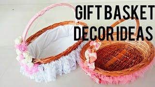 DIY Basket I Gift Basket Ideas I Gift Basket Decore I Basket Decoration