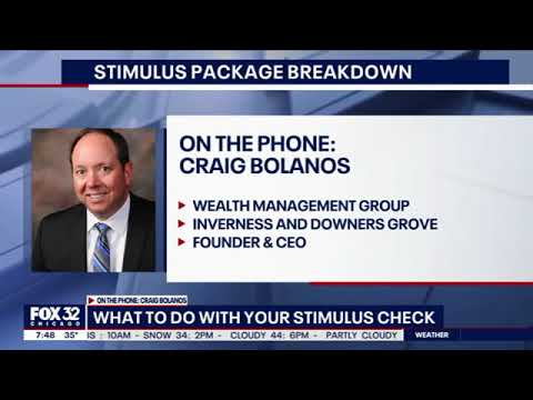 Craig Bolanos on Fox32 - Stimulus Package