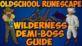 Oldschool Runescape - Scorpia, Crazy Archaelogist,  Chaos Fanatic Guide | Wildy Demi-Boss Guide