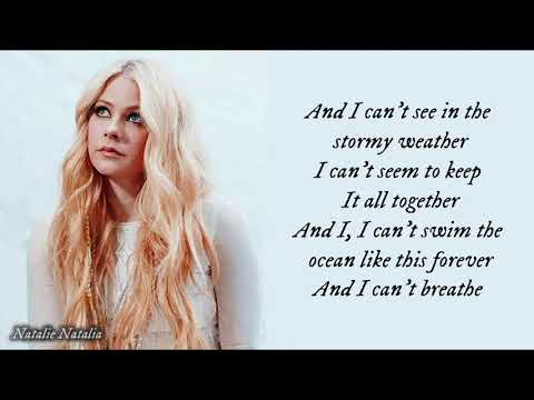Avril Lavigne - Head Above Water (lyrics) (видео)