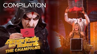 6 AMAZING Moments From AGT: Champions! - America's Got Talent: The Champions