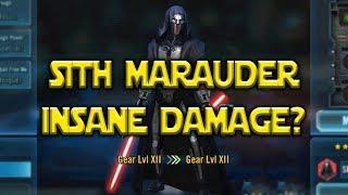 Sith Marauder Kit Reveal - Insane Damage? | Star Wars: Galaxy Of Heroes - SWGOH
