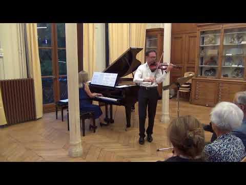 « Concert d'ouverture » par les membres de MINES ParisTech et PSL<br /> Rachmaninov, Vocalise pour violon et piano