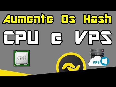 Banano Aumentar os Hash, CPU e VPS