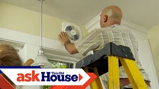 How to Install a Through-the-Wall Exhaust Fan