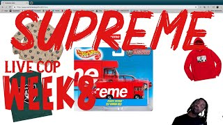Supreme SS Week 8 Live Cop | Buying Some Hot Wheels!