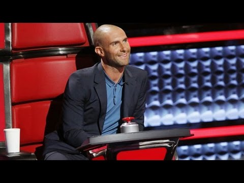Adam Levine Debuts Bald 'Lex Luther' Look On 'The Voice' Mp3