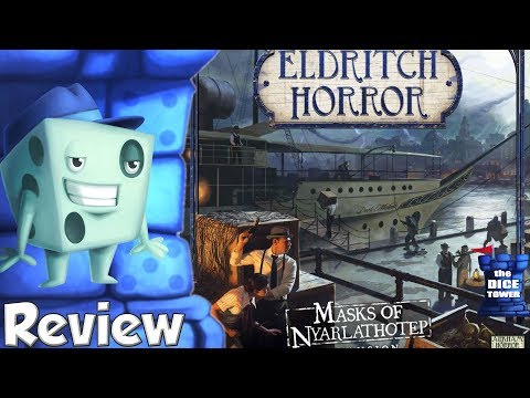 Eldritch Horror: Masks of Nyarlathotep Review - with Tom Vasel