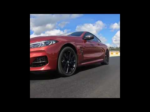 The New BMW M850i XDrive Coupe In Sunset Orange Teaser