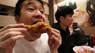 MY FIRST TIME AT JOLLIBEE NYC - FILIPINO FAST FOOD