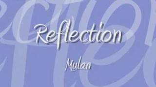 Reflection - Disney Lyrics