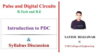 1  Pulse & Digital Circuits (PDC) - Introduction to syllabus JNTUH (R13)
