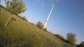 FPV lawn mower???? iFlight Nazgul5 Slalom Bäume und Rasenmäher