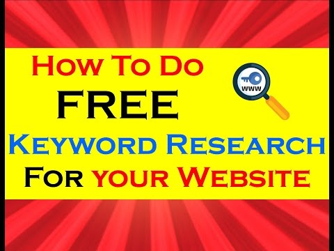 How To Find Keywords For SEO | Keyword Search Tool | How To Do A Keyword Research 2014 | Competitors