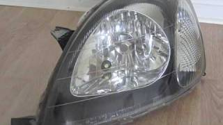 Customizing Headlights for 2001 Toyota Yaris
