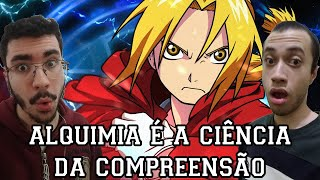 REACT Rap Do Edward Elric (Fullmetal Alchemist) - TROCA EQUIVALENTE | NERD HITS