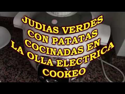 JUDIAS CON PATATAS EN OLLA COOKEO