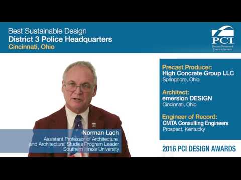 PCI Design Award Sustainable Design