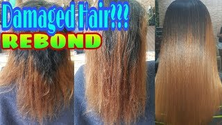 How To Rebond On Damage Hair