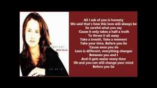 Chely Wright - Before You Lie ( + lyrics 1997)