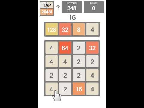 Video of Tap 2048!
