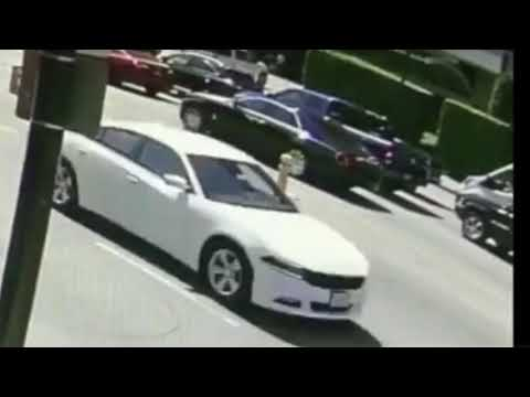 Young Dolph Shooting Caught On Business Camera Across The Street (видео)