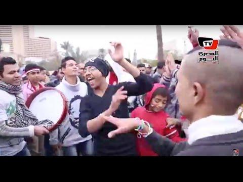 زغاريد ورقص بـ«التحرير» احتفالا بذكرى الثورة