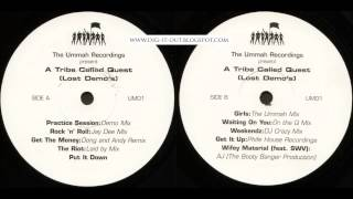 A Tribe Called Quest - The Lost Demos (FULL ALBUM)