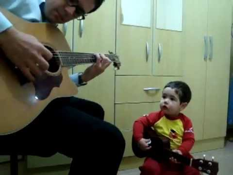 An Adorable Performance by a 2 Year Old!