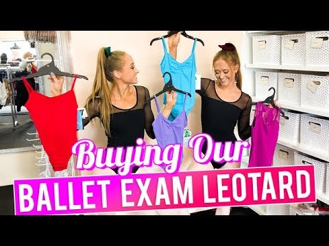 Buying Our Ballet Exam Leotard   The Rybka Twins